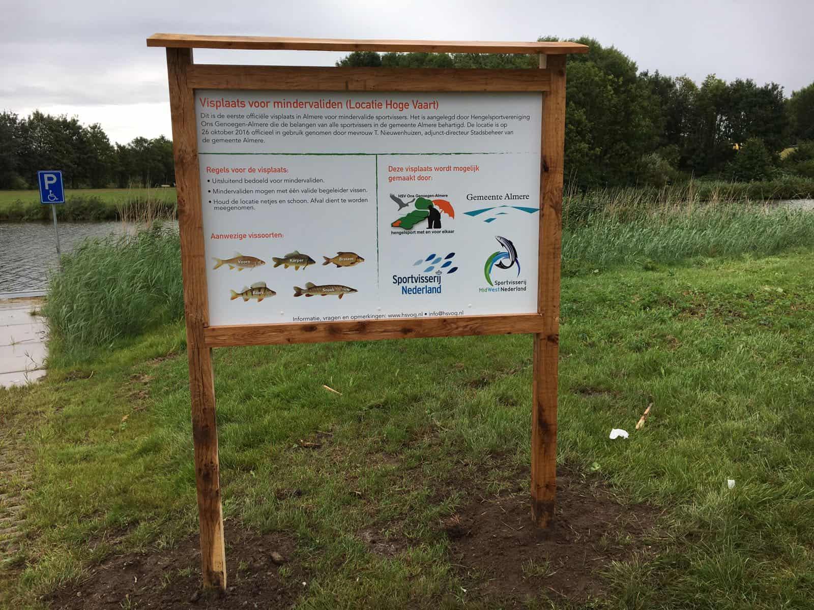 Almere - Invalide visplaats 1