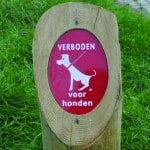 Graveerbord Hondenbeleid