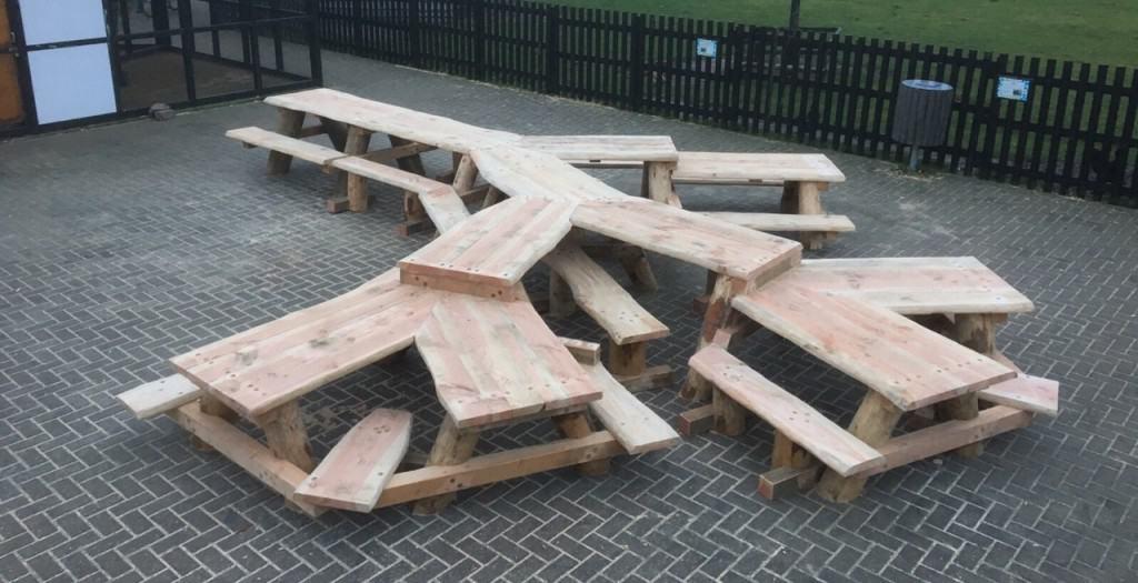 Picknicktafelset Den Helder