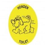 Honden toilet