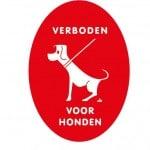 Verboden voor honden hondenbeleid