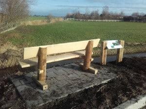 Parkbank duurzaam eikenhout